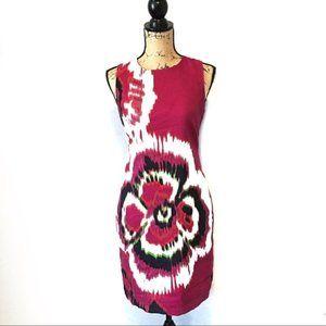 Taylor Dress Pink Floral Size 8